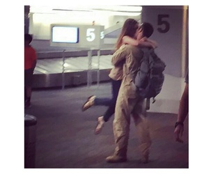 military and love image