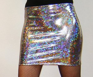 fashion, holographic, and glitter image