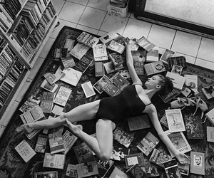 ballet, books, and dance image