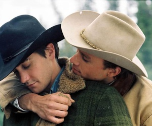 brokeback mountain, heath ledger, and jake gyllenhaal image