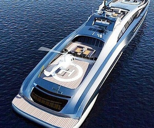 boat, rich, and luxury image