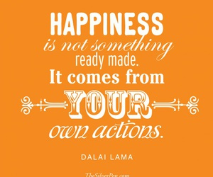 happiness, made, and quote image