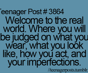 teenager post, judge, and quote image