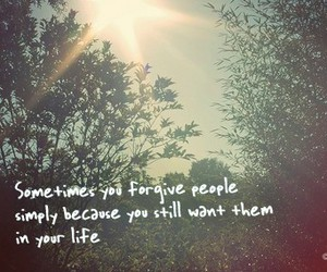 forgive, quote, and life image