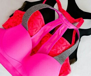 pink and bra image