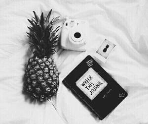 pineapple, white, and tumblr image