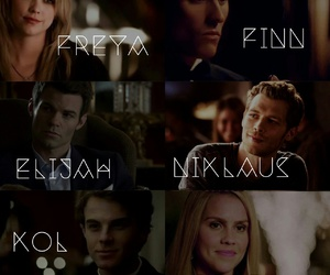 finn, The Originals, and rebekah image