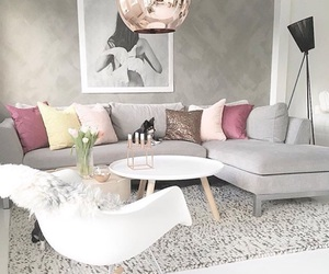 decor, grey, and interior image