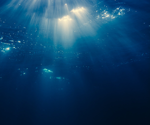 light, the sea, and underwater image