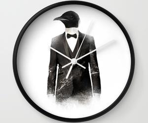 clock, crystal, and wallclock image