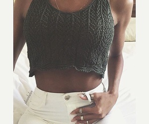 crochet, crop, and style image