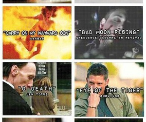 supernatural, song, and dean image