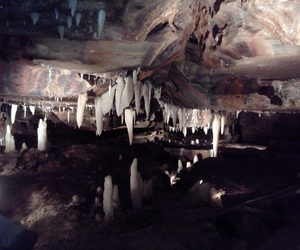 gorgeous, caverns, and west liberty image