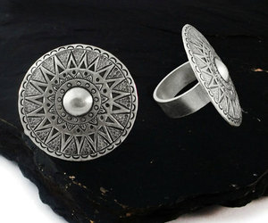etsy, jewelry, and hippie rings image