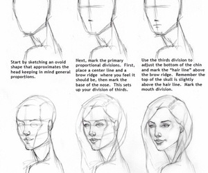 drawing, draw, and face image
