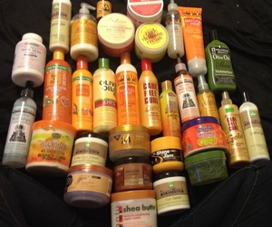 hair and products image
