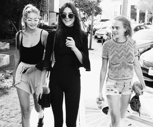 kendall jenner, model, and gigi hadid image