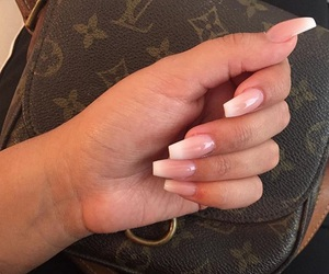 nails, Louis Vuitton, and LV image
