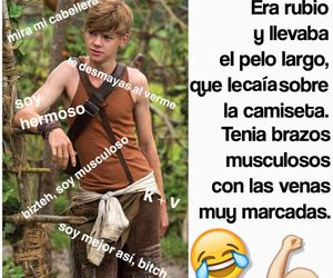 funny, thomas sangster, and the maze runner image