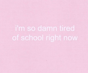 quote, exam, and pink image