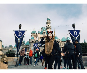 blogger, disneyland, and fashion image
