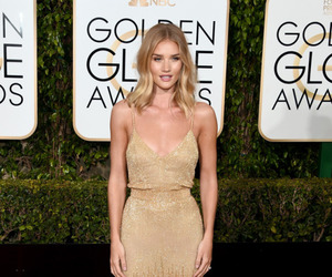 golden globes, model, and rosie huntington-whiteley image