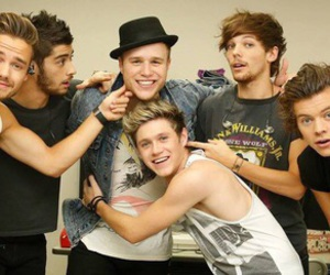 one direction, olly murs, and liam payne image