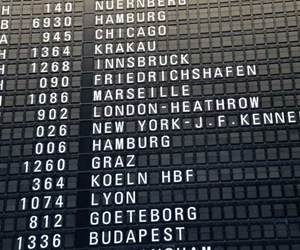 travel, new york, and airport image