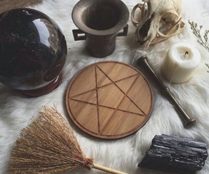 witch, magic, and spell image