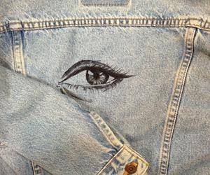 grunge, eye, and hipster image