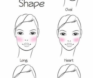 makeup, blush, and face image