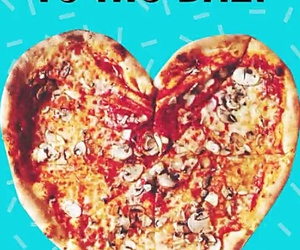 bae, heart, and pizza image