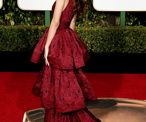 zendaya, golden globes, and dress image