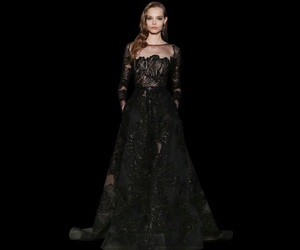 dress, elie saab, and long image