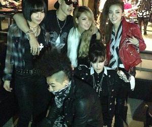 2ne1, taeyang, and bom image