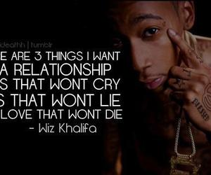 quote, wiz khalifa, and Relationship image