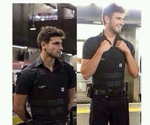 police, Hot, and boy image