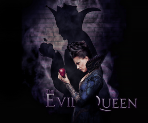once upon a time, ️ouat, and evil queen image