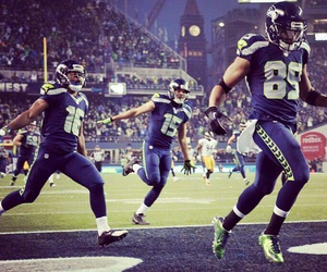 12 and seattle seahawks image