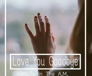 one direction and love you goodbye image