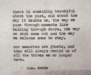 memories, past, and r.m. drake image