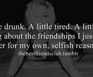 drunk, tired, and fucked over image