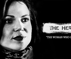 hero, once upon a time, and regina mills image