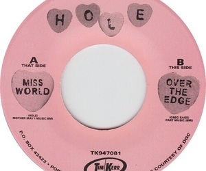 hole, pink, and record image