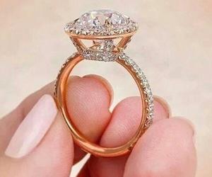 husband, wedding, and engagement ring image