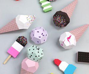 diy, ice cream, and Paper image