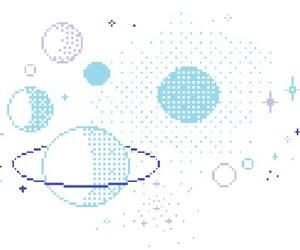 blue, edit, and galaxy image