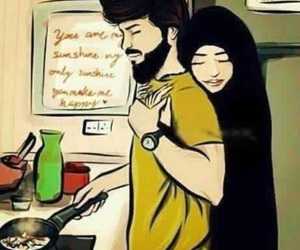 couple and islam image