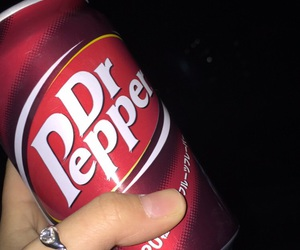 background, dr pepper, and drink image