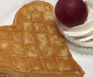 breakfast, cake, and heart image